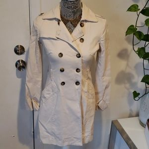 Vintage Double Breasted Trench Coat